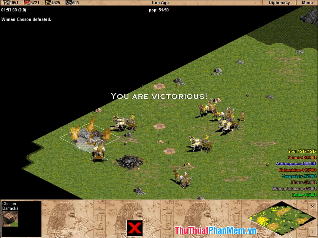 Hình ảnh trong game Age Of Empires The Rise Of Rome - 3